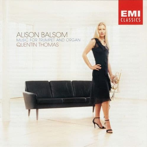 Alison Balsom, Quentin Thomas<br>Music For Trumpet And Organ<br>CD